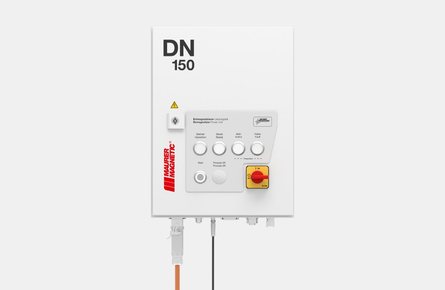 Leistungsmodul DN150 für Entmagnetisierer der Maurer Magnetic.