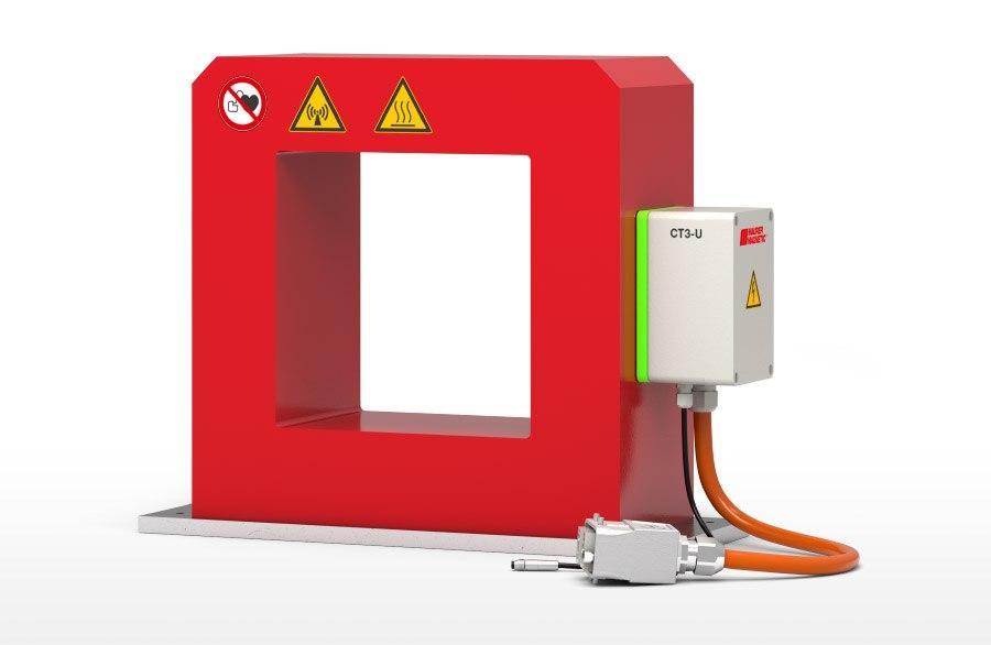 CT-U - Entmagnetisierer geeignet für kleinere Schüttgutmengen oder weichmagnetischen Bauteilen. Entmagnetisier Leistung um ein Vielfaches erhöht, gegenüber herkömmlichen Tunnelentmagnetisierer.