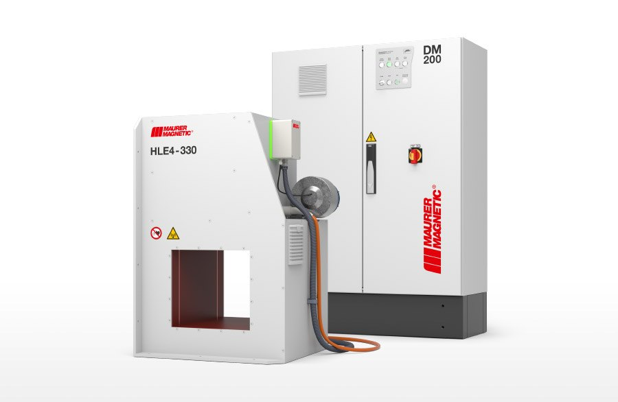 Leistungsmodul DM200 mit Hochleistungs-Entmagnetisierer HLE in Kombination - Gerendert