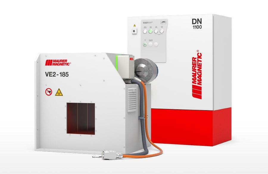 Gerenderte Entmagnetisierspule Typ VE und Leistungsmodul DN1100.