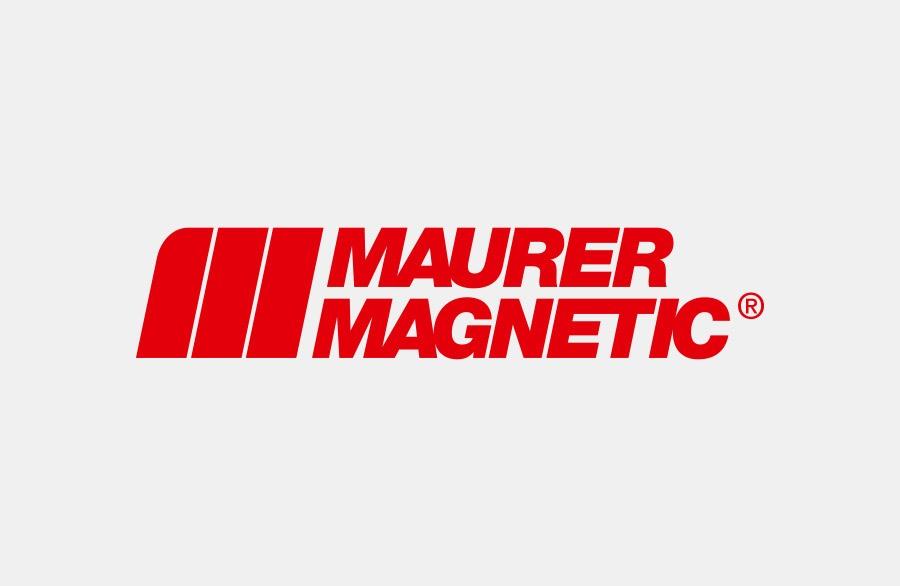 Logo des Herstellers für entmagnetisierungs Anlagen und Kundenspezifischen Magneten Maurer Magnetic.